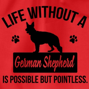Dog: Life without a German Shepherd = pointless Toppar - Gymnastikpåse