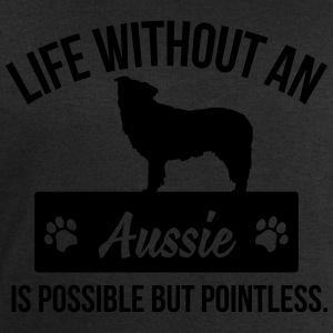 Dog shirt: Life without an Aussie is pointless Tee shirts - Sweat-shirt Homme Stanley & Stella