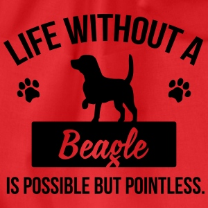 Dog shirt: Life without a Beagle is pointless Tops - Gymtas