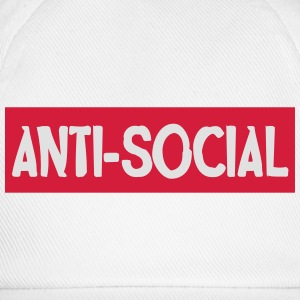 Anti-social T-Shirts - Baseball Cap