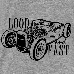 Loud and fast sweat - T-shirt Premium Homme