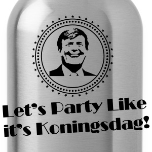 Let's party like it's Koningsdag (retro) T-shirts - Drinkfles