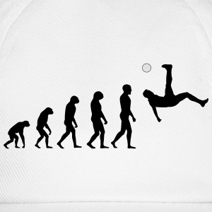 Evolution Football #1 - Overhead kick - Men's t-sh - Baseball Cap