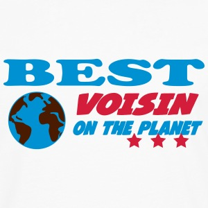 Best voisin on the planet Tee shirts - T-shirt manches longues Premium Homme