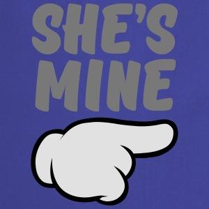 She\'s Mine (Comic Hand) Part 2 T-Shirts - Cooking Apron