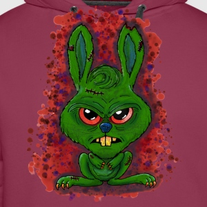 Monsterhase - Monsterrabbit - Hase - Rabbit T-Shirts - Männer Premium Hoodie