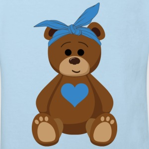 teddy bear boy Baby Bodys - Kinder Bio-T-Shirt
