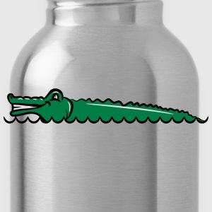 Crocodile freshwater cool T-Shirts - Water Bottle