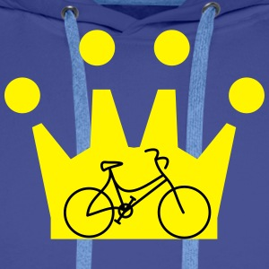 Bike Crown - Men's Premium Hoodie