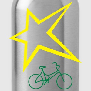 Bike heart - Water Bottle
