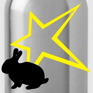 Bunny with star - Water Bottle