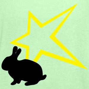 Bunny with star - Women's Tank Top by Bella