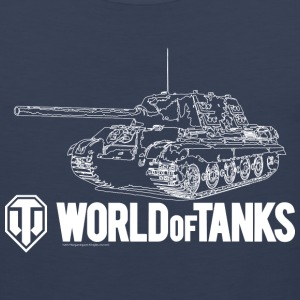 World of Tanks Jagdtiger Homme tee shirt - Débardeur Premium Homme