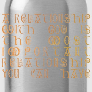 Relationship with God - Water Bottle