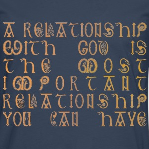 Relationship with God - Men's Premium Longsleeve Shirt