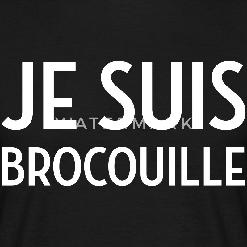 Brocouille / Inconnus / Comique / Humour / Marrant Tee shirts - T-shirt Homme