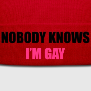 NobodyKnowsI'mGay1 T-Shirts - Winter Hat