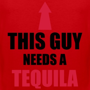 This Guy Needs A Tequila Camisetas - Tank top premium hombre