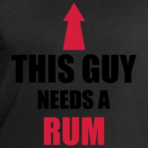 ThisGuyNeedsARum T-Shirts - Men's Sweatshirt by Stanley & Stella