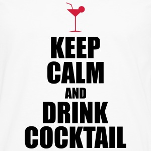 KeepCalmAndDrinkCocktail T-Shirts - Men's Premium Longsleeve Shirt