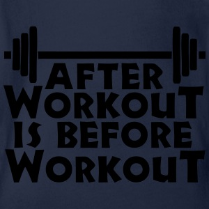 After Workout is before Workout Langarmshirts - Baby Bio-Kurzarm-Body