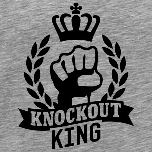 Knockout King Tank Tops - Männer Premium T-Shirt