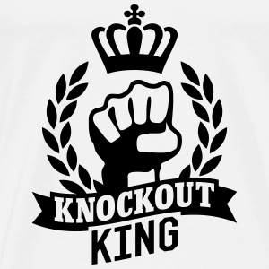 Knockout King Pullover & Hoodies - Männer Premium T-Shirt