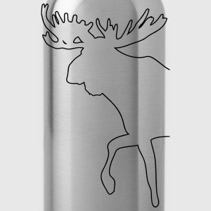 Elch - Moose T-Shirts - Trinkflasche