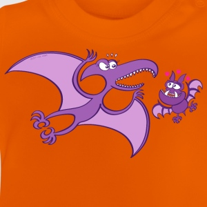 Bat Madly in Love with a Pterodactylus Shirts - Baby T-Shirt