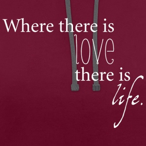 cool quote  T-Shirts - Contrast Colour Hoodie