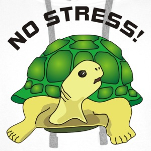 no stress Tee shirts - Sweat-shirt à capuche Premium pour hommes