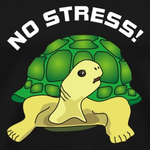 no stress Mugs & Drinkware - Men's Premium T-Shirt
