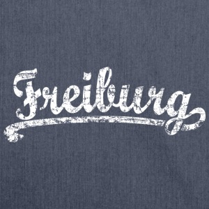 Freiburg Classic Vintage (Weiß) S-5XL T-Shirt - Schultertasche aus Recycling-Material