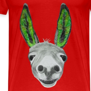 Esel grün / donkey green Long Sleeve Shirts - Men's Premium T-Shirt
