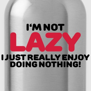 I'm not lazy T-Shirts - Water Bottle
