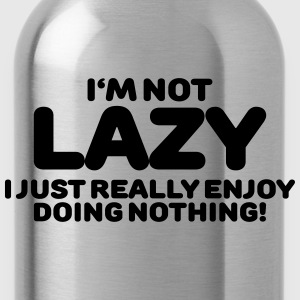 I'm not lazy T-shirts - Vattenflaska