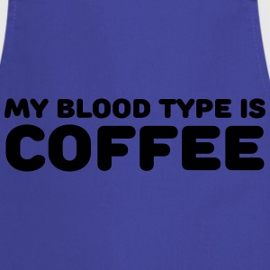 My blood type is coffee T-shirts - Förkläde