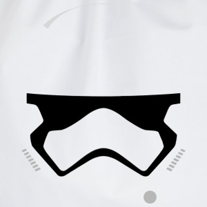 Storm Trooper Helmet T-Shirts - Drawstring Bag