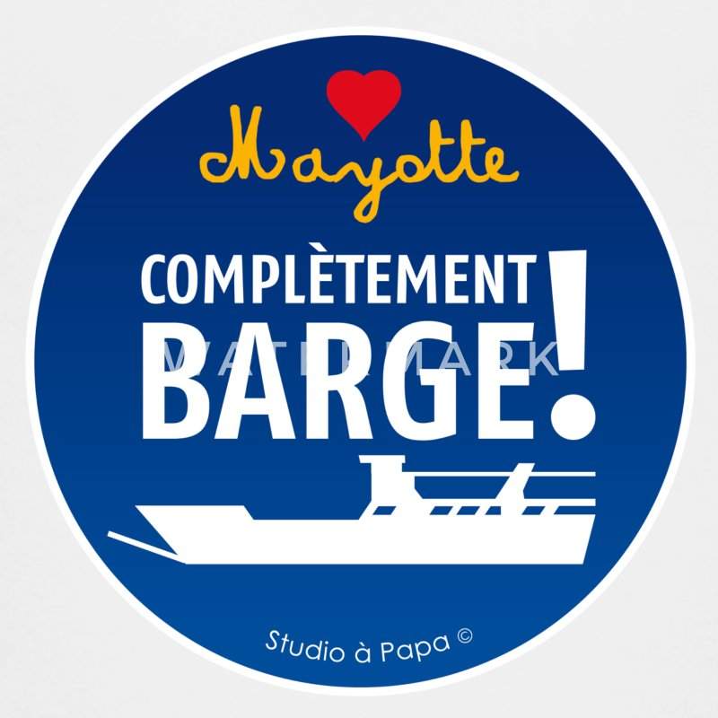 BARGE Collection Mayotte Complètement BARGE !! - T-shirt Premium Ado