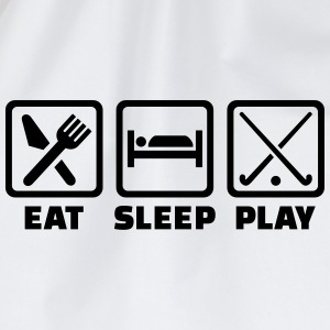 Eat sleep Feldhockey T-Shirts - Turnbeutel