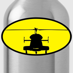 Helicopter logo - Water Bottle