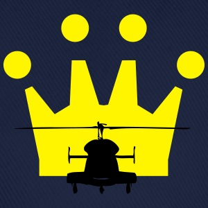 Helicopter Crown - Baseball Cap