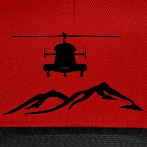 Helicopter mountain - Snapback Cap