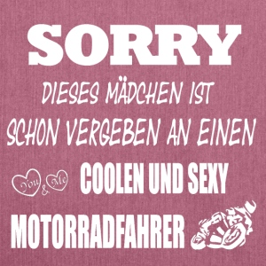 SORRY, Vergeben! - Schultertasche aus Recycling-Material