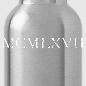 MCMLXVII Jahrgang 1967 RRoman Birthday Year T-Shirts - Water Bottle