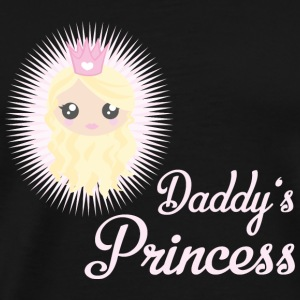 Daddy's Princess - Männer Premium T-Shirt