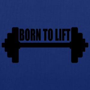 Tee shirt homme Born to lift - Tote Bag