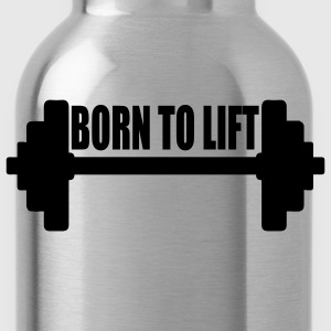 Tee shirt homme Born to lift - Gourde