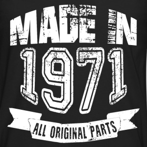 Made in 1971 - Camiseta de manga larga premium hombre