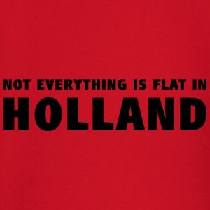 Not everything is flat in Holland T-shirts - T-shirt
